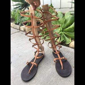Free people vegan leather gladiator sandal